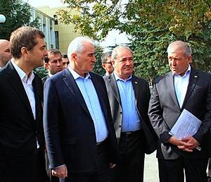 Высокая инспекция оценила ход возрождения Южной Осетии