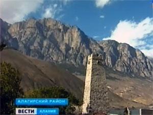 Цаллаговы восстановили свою родовую башню в селении Унал
