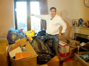 Саакашвили собрался с вещами на выход