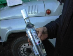 В Прокопьевске изъято 120 тысяч бутылок контрафактной водки из Северной Осетии