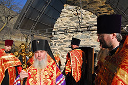 Свято-Георгиевские епархиальные чтения начались молебном в древнем Нузальском храме