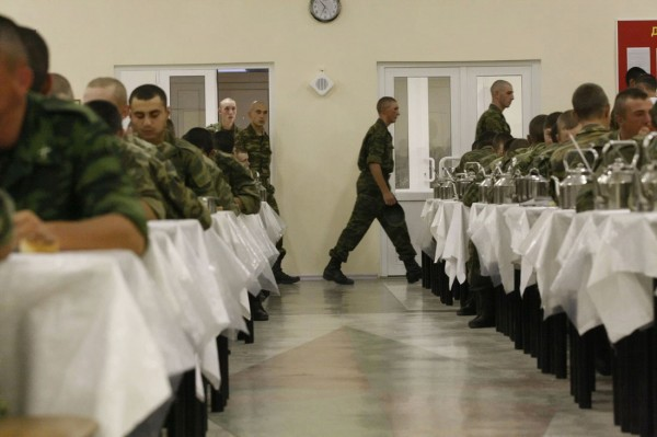 На российскую военную базу в Южной Осетии прибыло более 650 новобранцев
