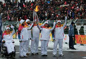 Владикавказ стал столицей эстафеты Олимпийского огня зимних Игр «Сочи-2014»
