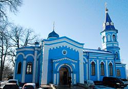 Архиепископ Зосима совершил Литургию в храме на Осетинской горке