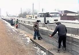 На въезде во Владикавказ будут установлены шумоизоляционные экраны