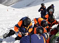 Спасатели оказали помощь горнолыжнице
