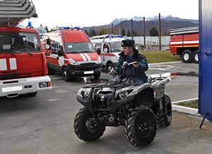 Во Владикавказе появится патруль на мотовездеходах