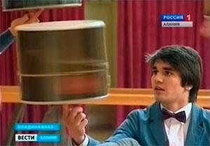 Юный долист из Северной Осетии Хан ДЕМИРОВ попал в книгу рекордов Гиннесса