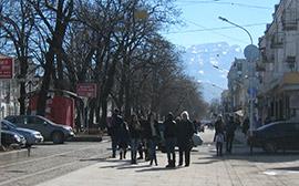 Во Владикавказ весна пришла в феврале