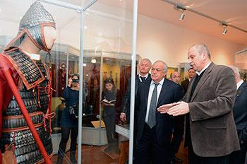 Во Владикавказе открылся Музей древностей Алании