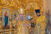 В Прощеное воскресенье архиепископ Зосима совершил литургию в Свято-Георгиевском кафедральном соборе