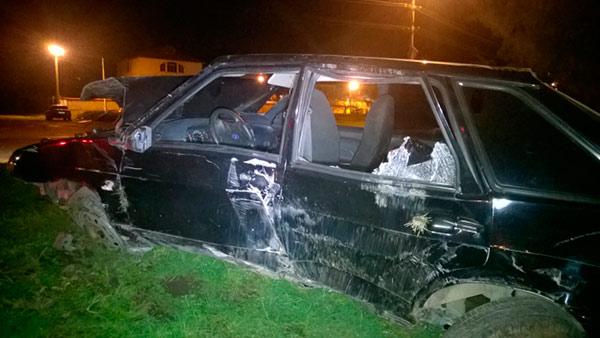 Во Владикавказе в результате опрокидывания «Жигулей» один человек погиб