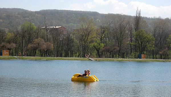 В выходные дни во Владикавказ постучалось лето