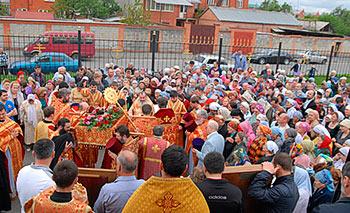 В Свято-Георгиевском кафедральном соборе Владикавказа отметили престольный праздник