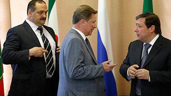 Северокавказским лидерам представили «человека в погонах»