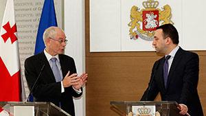 Грузия начинает интеграцию в Евросоюз