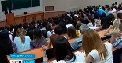 Таймураз МАМСУРОВ прочел лекцию студентам СК ГМИ