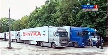Транспортный коллапс в Дарьяльском ущелье продолжается