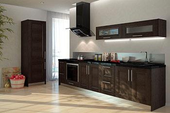 Какие бывают кухонные гарнитуры
