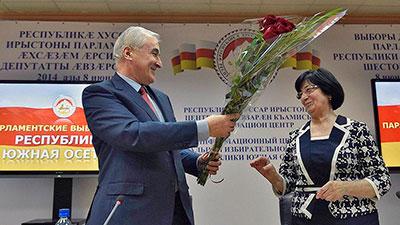 Южная Осетия проголосовала за Россию