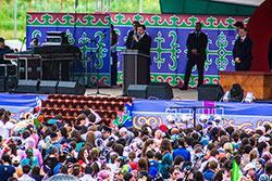 Таймураз Мамсуров поздравил Евкурова с Днем республики