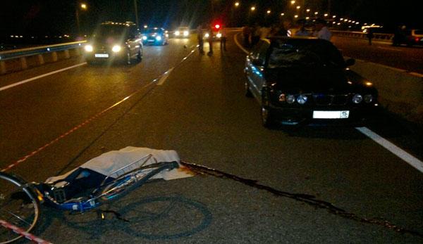 На трассе между Бесланом и Владикавказом водитель «BMW-5» насмерть сбил велосипедиста