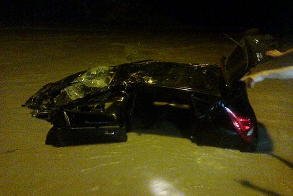 Падение «Hyundai» с моста в горную реку Урух привело к гибели двух девушек