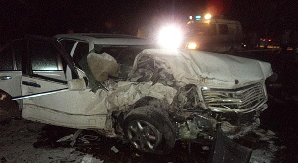 Под Владикавказом в аварии с участием четырех автомобилей погибли три человека