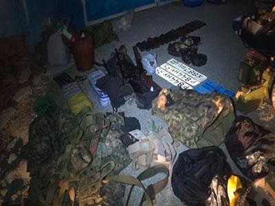 В Северной Осетии выявлен схрон-тайник с оружием и боеприпасами
