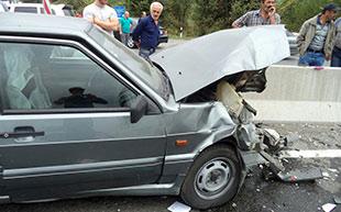 На трассе «Владикавказ-Гизель» столкнулись два автомобиля