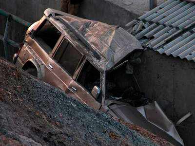 Во Владикавказе в ДТП пострадал 87-летний водитель