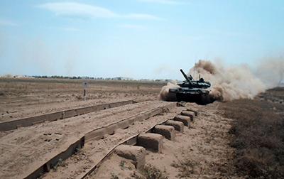 Танкисты российской военной базы в Южной Осетии определили лучший экипаж