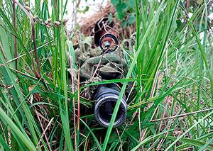 Снайперы из Южной Осетии изучают профессиональные хитрости в Северной Осетии