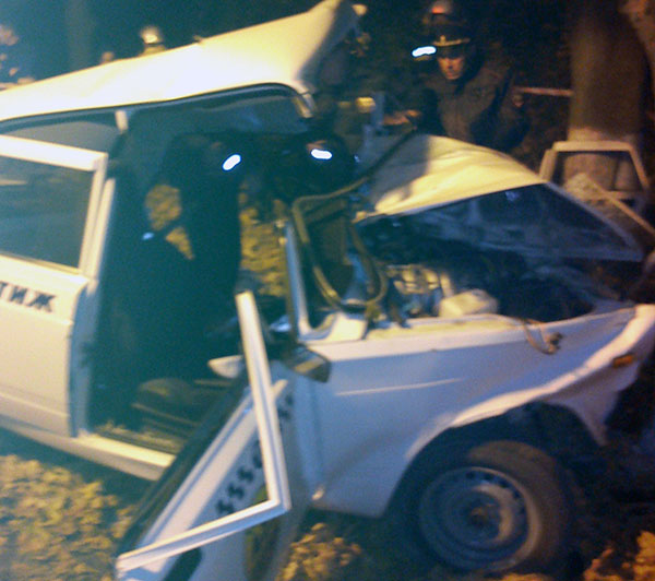 На федеральной трассе «Кавказ» в результате столкновения «семерки» с деревом погибли три человека