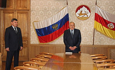 Борис ДРЯЕВ стал новым полномочным представителем Северной Осетии в Москве