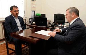 Юнус-Бек ЕВКУРОВ: «Есть тесные рабочие, я бы сказал, дружественные контакты с властями Северной Осетии»