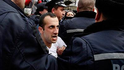 «Свободные грузины» устроили погром в «Свободной зоне»
