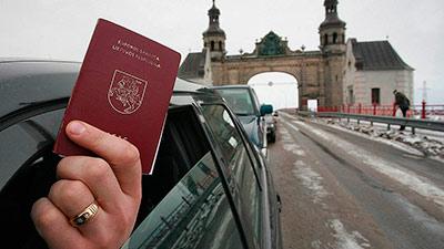 Иностранные паспорта скрываются за границей