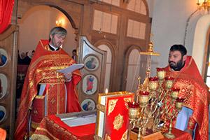 На родине Коста ХЕТАГУРОВА совершена первая за 100 лет Божественная литургия на осетинском языке