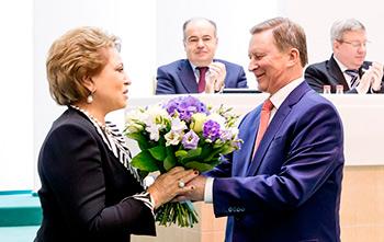 Валентина МАТВИЕНКО как пример беззаветного служения национальным интересам России