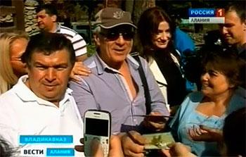 В Северной Осетии гостит известный актер Гойко МИТИЧ