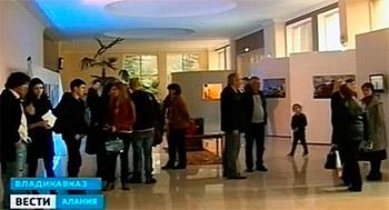 В Северной Осетии открылась выставка художников Калининграда