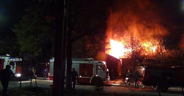 При пожаре на заводе «Электроцинк» во Владикавказе никто не пострадал