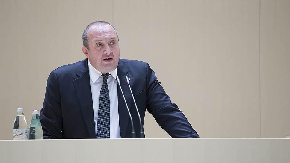 Президент Грузии призвал упредить революцию