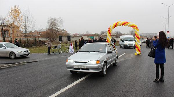 Владикавказ получил новую благоустроенную магистраль