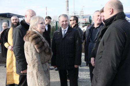 Во Владикавказе после реконструкции введена в эксплуатацию газонаполнительная станция