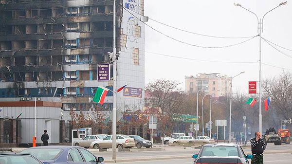 В Грозный вернулись смертники