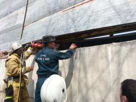 Пострадавшего во Владикавказе строителя доставили в больницу