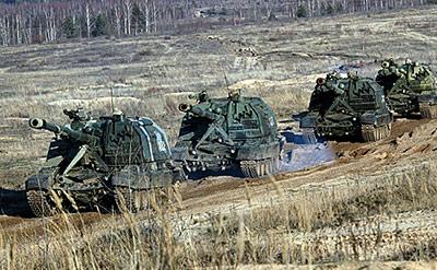 На Кавказе артиллеристы осваивают новейшие средства поражения, разведки и управления огнем
