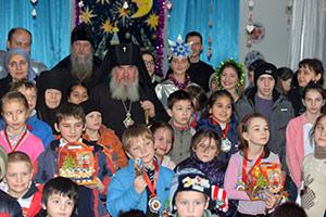 Рождественское представление – для детдомовцев и детей из центра реабилитации